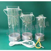 中西玻璃采样器/采水器有机玻璃 不锈钢水质采样器 深水污水采样器取样桶1L2L3L5L 型号:500