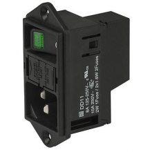 Schurter舒特功率输入模块 各种开关 滤波器 插座的组合品DD11