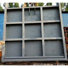 800*800弧形钢制闸门价格 钢闸门的安装方法 可定制