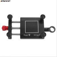 摩托车改装配件车载CNC铝合金手机支架鬼火电动自行车GPS导航支架