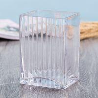 欧式吹制玻璃方形缸花瓶透明水培玻璃瓶摆件花盆厂家直销