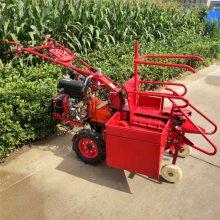 亚博国际真实吗机械 电启动单垄苞米收割机 掰玉米棒子机器 小四轮玉米收割机价格