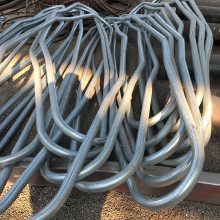 成都钢结构用工字钢拉弯厂 型材拉弯加工厂 45工字钢加工厂