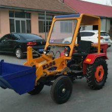 拖拉机型装载机使用视频 工地运料小型铲车 ZL06轮式装载机价格
