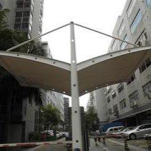 耐力板车棚-创锦帆装饰膜结构-太仓车棚