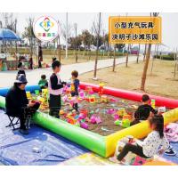 四川泸州广场充气沙池套装,儿童玩具池球池加厚节省人力资源