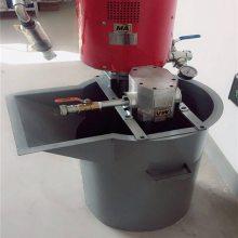 ZBQ-8/7矿用气动注浆泵宇成制造 100L气动搅拌桶