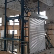 鄂州1/2吨5吨电动升降机 固定式升降台 导轨液压升降货梯 定制维修