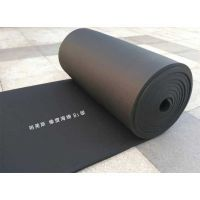 量大送货复合吸音橡塑保温板 守信誉黑色阻燃 每立方价格B1级橡塑保温板