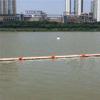 穿绳子塑料拦污排大距离管式拦漂排价格