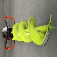 庞泰螺旋汽油挖坑机/栽树机打眼专用