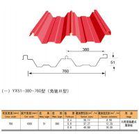 上海新之杰凭借YX51-380-760型屋面压型板承接闵行区群众艺术馆项目屋面板供应