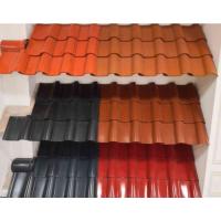 新农村建设陶瓷屋面彩色琉璃瓦,价格低、质量好