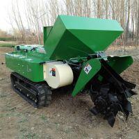 性能稳定的农用开沟施肥起垄机 小型家用翻地除草机 中泰机械