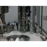ZHBS全自动泵式瓶灌装旋盖套标生产线