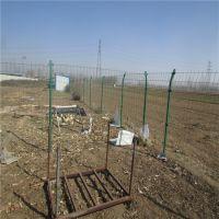 草绿色围山隔离栏 高速公路绿色护栏网 双边圈地不锈钢防护网铁丝网价格