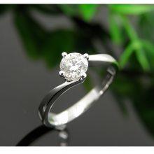 求订结婚50分钻石戒指 有保障珠宝裸钻定制18K金女钻戒 厂价直销 金饰加工定制