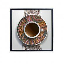 餐厅艺术装饰挂画 个性定制创意图案壁画 咖啡馆墙壁工艺画