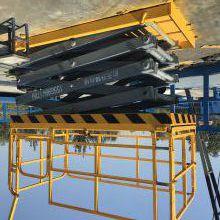 开封航天供应剪叉式液压升降机 剪式升降平台 升降液压平台 理想货物输送工具