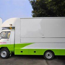 热销流动售货车 蔬菜水果售卖车 汉堡奶茶销售车1.3L