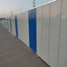 现货供应市政建设施工隔离小草绿铁皮围挡 工程彩钢板围挡 PVC施工围挡