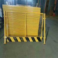隧道建设护栏网 路障设施警示栏 危险地带隔离网
