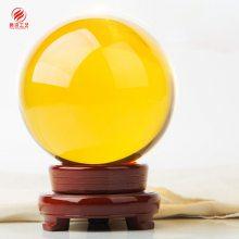 集团成立周年庆典纪念品,水晶风水摆件 水晶球纪念品定制