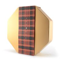 昶成制罐八角罐月饼铁罐包装定制 月饼中秋礼品铁盒包装 铁盒加工