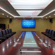 供应内蒙古通辽市无纸化会议桌电脑液晶屏升降器