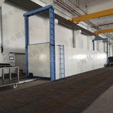 玻璃钢管材烘房 玻璃钢导电管流水线 自动化地轨烘房