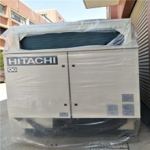 上海瑞年专业拆除大型工厂室内车间拆除废旧资源制冷设备回收RHU270ACZ2-2日立螺杆式风冷热泵机