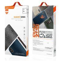 跨境iphone6手机壳苹果6plus牛仔布纹翻盖皮套立式支架创意保护套
