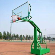 冀跃体育 室外篮球架 平箱篮球架价格 广东移动篮球架厂家