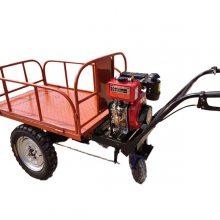 加强载重手推车 工程运料推车 养殖场鸡粪清理运输车