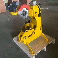 电动液压切管机 消防管道割管机价格 200型镀锌管切管机 森泰