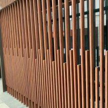 汽车客运站外墙隔断铝花格 中式铝合金花格材料