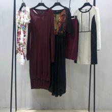 可爱清纯连衣裙 夏季波点碎花 品牌折扣女装 名品折扣