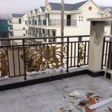 外墙铝艺栏杆-西宁铝艺栏杆-伟越五金生产厂家