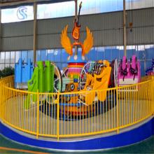 厂家生产研发新型游乐设备翻滚音乐船(FGYYC-8)360度无规则旋转河南三星游乐