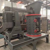 立轴制砂机生产现场图 攀奇机械1500型重锤立轴制砂机生产厂家