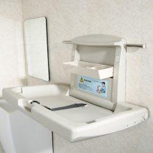 可折叠婴儿护理台 车站母婴休息室婴儿护理台尿布台 第三卫生间婴儿护理台