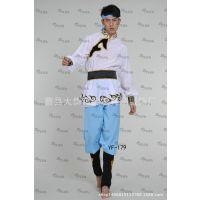 男蒙古演出服装民族舞台装蒙古族表演服装儿童舞蹈服壮族藏族服装