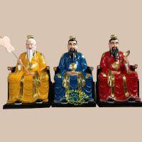河南众缘神像批发 太上老君神像 道教宗教法物 玻璃钢三清祖师佛像手工彩绘
