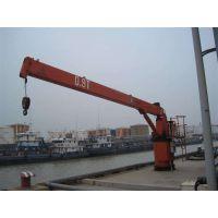 海重 码头固定式船吊 船用吊机 船用起重机 船尾吊 厂家特惠