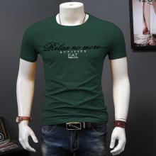 七浦路服装批发市场清仓甩卖男装纯棉短袖工厂一手货源低价男T恤批发