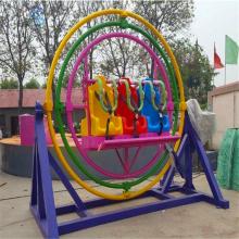 好玩刺激的小型游乐设备三维太空环(SWTKH-2)河南三星大量批发零售