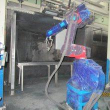 小家电外壳自动化喷涂设备 环保喷漆机械手