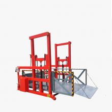 移动式装卸货平台济南6up传奇扑克  常规轨道式升降平台 集装箱货物升降机 厂家定制