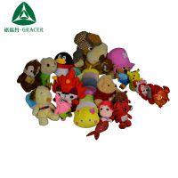 广州厂家库存娃娃大量出售毛绒公仔纤维棉泰迪熊生物礼物女生娃娃