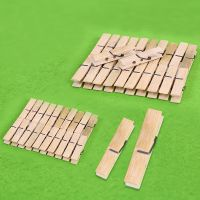 原色木质夹子 照片墙夹子麻绳木头木质夹子幼儿园DIY手工材料批发